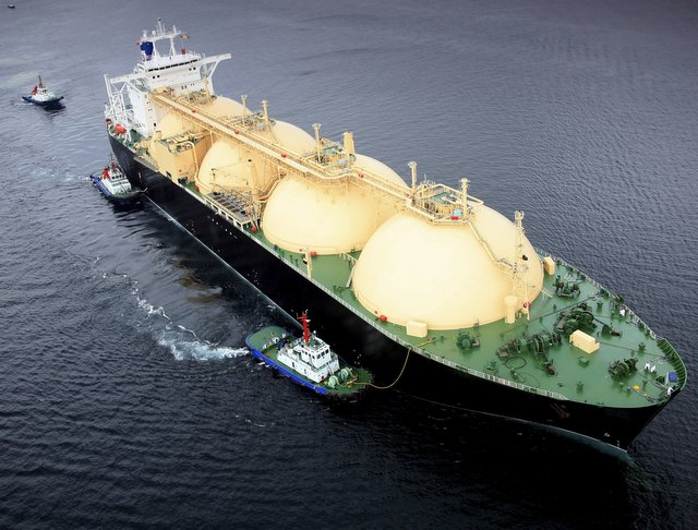 LNG tanker is used to transport liquified natural gas (Photo: GettyImages)