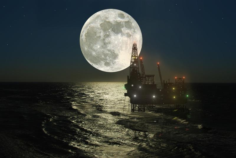 Oil rig at sea (Photo: GettyImages)
