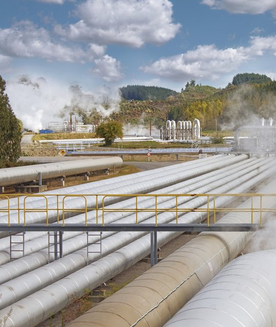 Geothermal energy station (Photo: GettyImages)