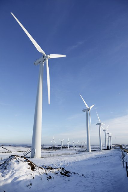 Wind turbines are a possible future energy source (Photo: GettyImages)