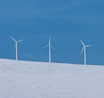 Wind turbines (Photo: GettyImages)