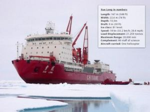 (Photo: Arctic Portal) Xuelong, click to enlarge and see more information about the vessel