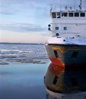 Vessel in the Arctic Ocean (Photo: GettyImages)