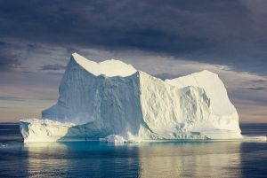 Sea Ice in Disco Bay, Greenland (Photo: Peter Prokosch)